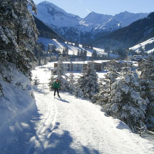 Winterurlaub in Tux - Langlaufen